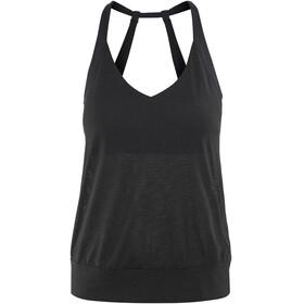 Prana Bedrock Mouwloos Shirt Dames zwart